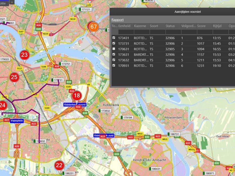 Dynamisch alarmeren met CityGIS Brandweer ART