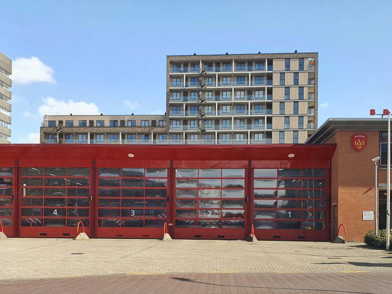 CityGIS collega overnacht bij Brandweer Haaglanden